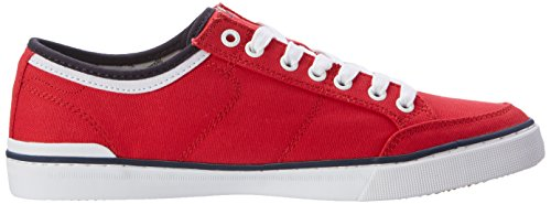 Tommy Hilfiger Herren H2285arrington 5d2 Low-Top Rot (Tango Red 611)