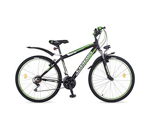 Orbis Bikes 26 ZOLL MTB MOUNTAINBIKE FEDERGABEL JUGENDFAHRRAD JUNGEN KINDER FAHRRAD KINDERFAHRRAD BIKE ESCAPE GRÜN