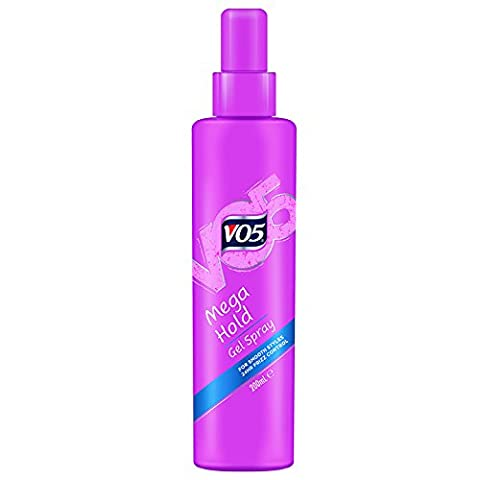 VO5 Mega Hold Hair Styling Gel Spray 200 ml - Pack of 3
