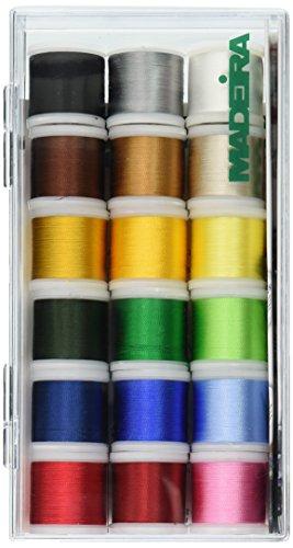 MADEIRA Tacony Corporation Rayon Gewinde sampler-18 Spulen one Size -