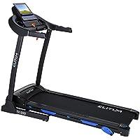Preisvergleich für Elitum TX500 elektrisches Laufband Heimtrainer klappbar, Bluetooth 4.0, Smartphone Steuerung, MP3, AUX, Geschwindigkeit: 0,1-14km/h, 12 Trainingsprogramme, bis 150 kg
