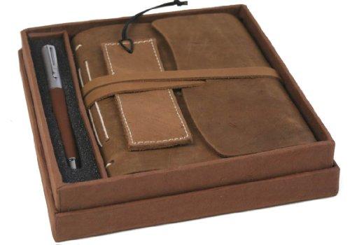 indra-handgemachtes-notizbuch-aus-rustikalem-leder-mit-geschenkbox-inklusive-lesezeichen-und-stift-1