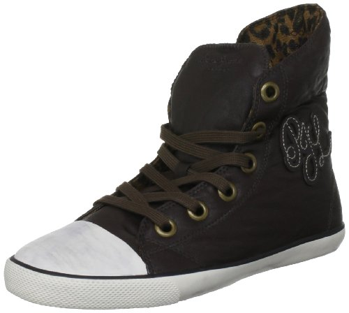 Pepe Jeans Berlin PFS30587, Damen Sneaker Braun (Brown)