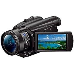 Sony FDR-AX700 Caméscope 4K HDR avec autofocus à détection de Phase Ultra-Rapide Noir