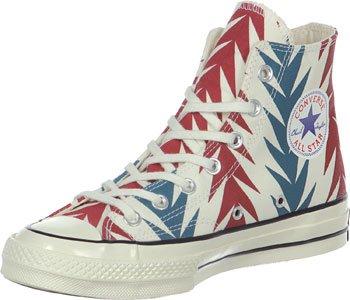 Converse Star Prem Hi 1970s Can Gr, Sneaker Alte Unisex - Adulto Bianco/Rosso/Blu