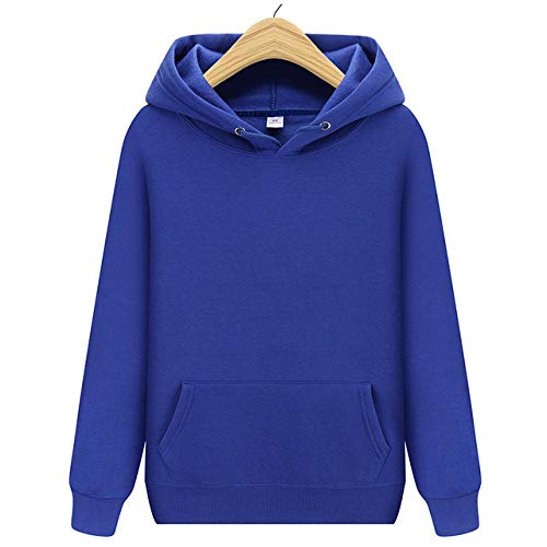 HNOSD New Pink/Schwarz/Grau/Lila Orange Hoodie Hip Hop Street Wear Sweatshirts Skateboard Herren/Damen Pullover Hoodies Herren Hoodie Blau XL
