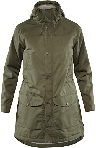 FJÄLLRÄVEN Damen Greenland Winterparka, Laurel Green, S Laurel Center