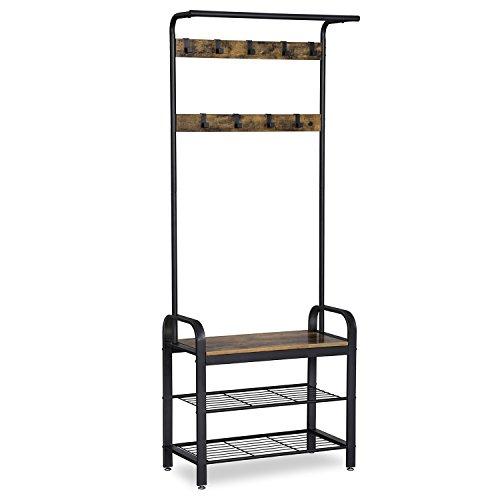 VASAGLE representa la combinación de funcionalidad, durabilidad y diseños industriales. Si deseas dar a tus habitaciones un toque individual y una estética industrial, puedes conseguir efectos impresionantes con nuestra serie de muebles de estilo ind...