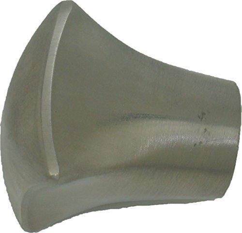 Terminale Coppa quadrato colore: acciaio 20mm