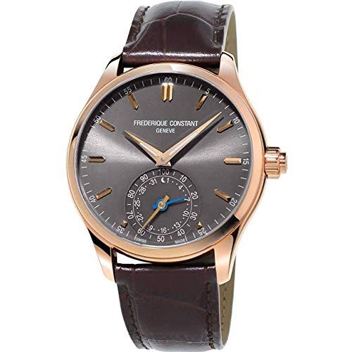 Frederique Constant Smartwatch Homme 42mm Quartz Montre FC-285LGS5B4