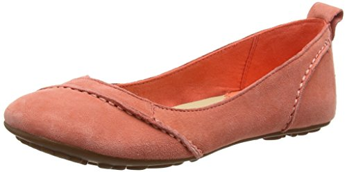 Hush Puppies Janessa, Women's Ballet Flats, Pink (Coral), 6 UK (39 EU)