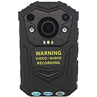 GUARDIAN G1 BODY CAMERA® HD 1296p @30fps & 32MP Camera with a 140 Degree Wide Angle Lens + IR Night Vision, GPS // Comes with built in 32GB Memory Card + Chest Harness + Shoulder Harness