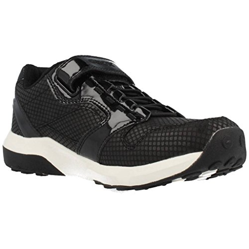 Geox J ASTEROID A Mädchen Sneakers Schwarz