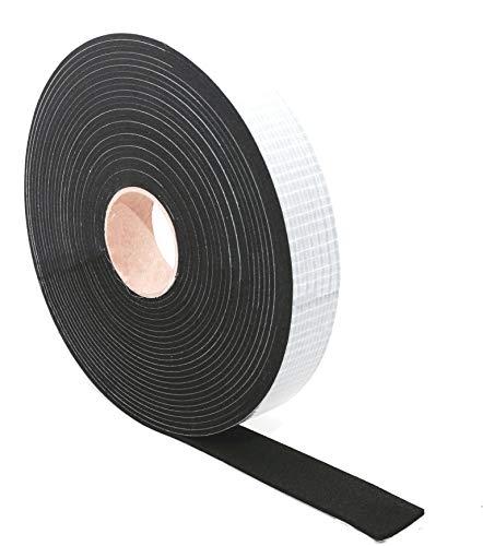 EPDM Zellkautschuk Dichtungsband einseitig, selbstklebend Moosgummi - 10m je Rolle- Breite 40mm x Dicke 2mm (40x2) Premium-Qualität mit Geld-zurück-Garantie