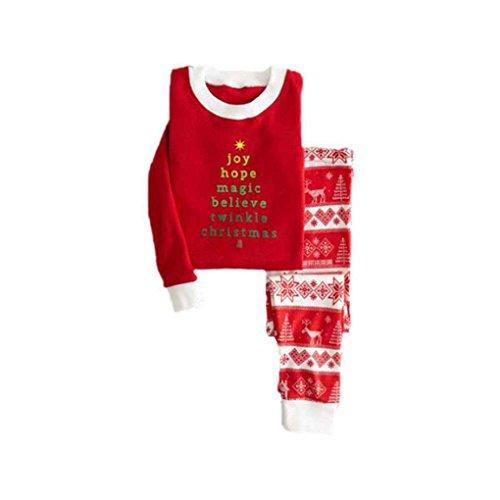 nachten Pyjama Set Familie Passenden Outfit Kleidung Sets Familie Pyjamas Kinder Kleidung Set Minzhi (Kindern Passende Weihnachts Pyjamas)