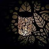 Garden Mile groß 50cm Edelstahl Hurricane Kerze Laternen Chrom & Glas Wandbehang Kerzenhalter Terrasse stomr Vase Tisch oder Fenster Mittelstück Innen- Außenbereich für Teelichtglas Stumpen und Kirche