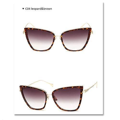 Wang-RX Mode sonnenbrillen frauen mode spiegel vintage sonnenbrille für dame weibliche uv400