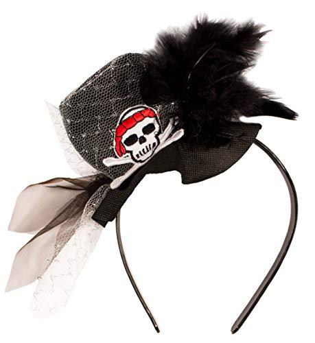Tiara / Kopfschmuck für Piraten Mädchen // Piraten Piratenmädchen Fasc (Piraten Für Mädchen)