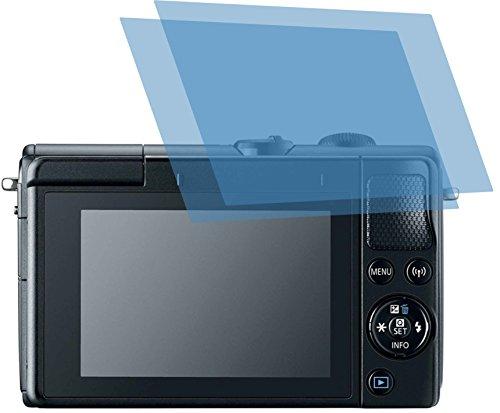 2x ANTIREFLEX matt Schutzfolie für Canon EOS M100 Displayschutzfolie Bildschirmschutzfolie Schutzhülle Displayschutz Displayfolie Folie