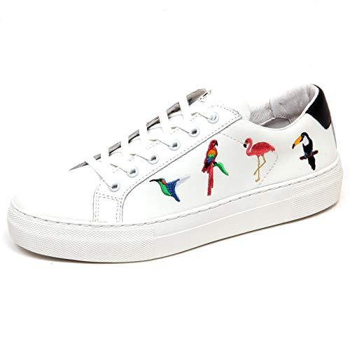808a3a443d045 F4382 Sneaker Donna White MOA MASTER OF ARTS Kit Victoria Scarpe Shoe Woman   41