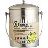 Kitchen Craft Stainless Steel Compost Bin