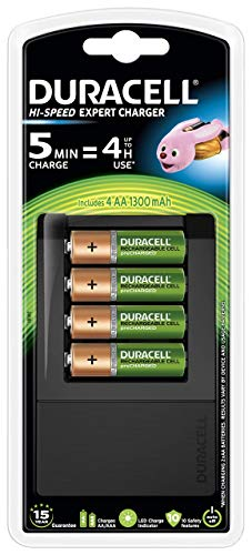 Duracell Chargeur Piles Rechargeables Ultra Rapide 5 minutes