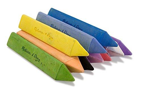 Kreide für Tafel oder Straße - Dreieckprofil für sicheren Griff
