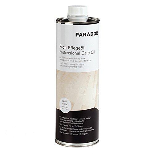 Parador Parador Profi-Pflegeöl weiß für Parkett Echtholzböden 1L 50 m²