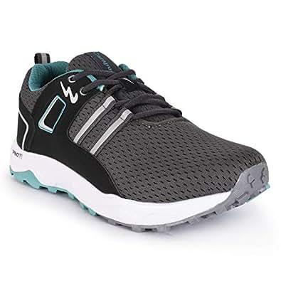 Campus Edge Men's Grey Mesh Running Shoes (9)
