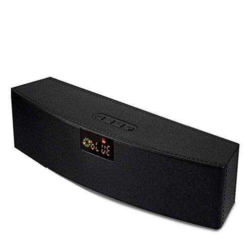 NAERFB Wireless Bluetooth Lautsprecher Subwoofer Outdoor LED Lautsprecher Karte Computer Lautsprecher 5 W + 5 W Lautsprecher 2000mah Akku für Perfekten Sound