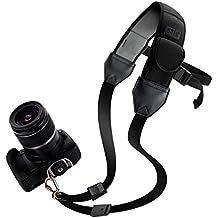 TrueSHOT Correa Neopreno Cámara Reflex con soporte bajo el brazo Para como Nikon D5300 5200 D7100 D5500 D3300 D3200 D610 Canon EOS 700D 750D 1200D 70D Sony Alpha A6300 A6000 A7 Pentax K50 y muchas más