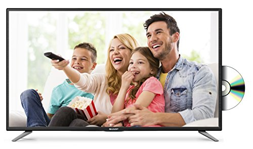 41Xq%2BKMa1dL - BEST BUY #1 Sharp LC-32CFE5111K 32-Inch Widescreen 720p HD Ready LED TV with Freeview HD and DVD Player - Black Reviews and price compare uk