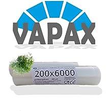 2x vapax vacío ruedas goffriert con estructura 20x 600cm bolsas de vacío Sous Vide Manguera con borde sello de vacío para todos los envasar al vacío