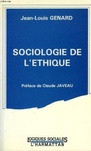 Sociologie de l'ethique