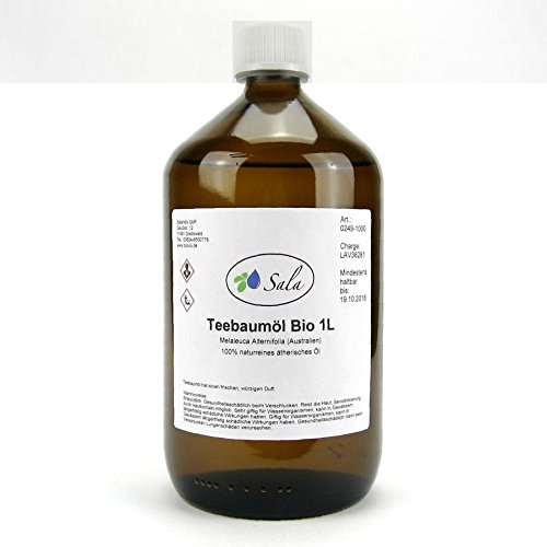Sala Teebaumöl bio ätherisches Öl 1000 ml 1 L
