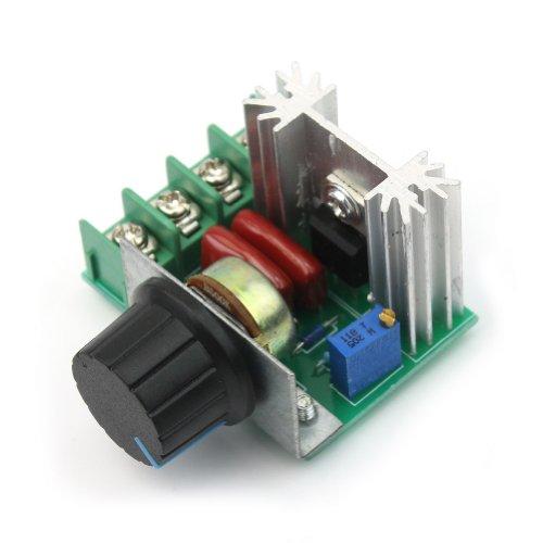 Adjustable Voltage Regulator PWM AC Motor Controlador Velocidad 2000W 50-220V