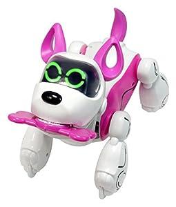 Silverlit-54069-Robot Perro interactiva con reconocimiento Voz-pupbo Rosa