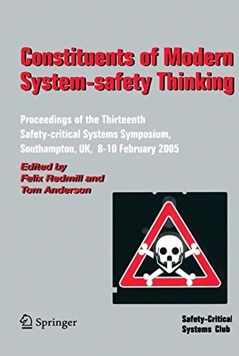 Constituents of Modern System-safety Thinking: Proceedings of the Thirteenth Safety-critical Systems Symposium, Southampton, UK, 8-10 February 2005 -