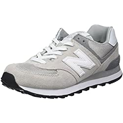 New Balance, Damen Sneaker, Grau (Grey), 40.5 EU (7 UK)