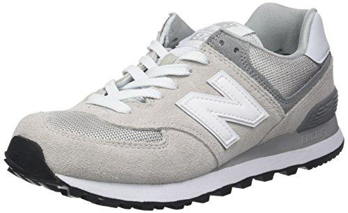New Balance Damen Sneaker, Grau (Grey), 39 EU (6 UK) (Grau Sportschuhe)