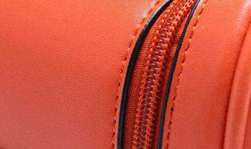 La Signora Unità Di Elaborazione Multifunzionale Portafoglio Zaino Da Viaggio Per Il Tempo Libero Orange