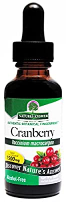 Nature's Answer Cranberry, Alcohol-Free, 1 Fl Oz (30 Ml) by Nature's Answer