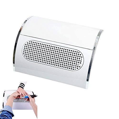 50 Cfm-motor (40 Watt Nail art Staubabsaugung mit 3 Fans UV Gel Lack Staubabsaugung Nail art Werkzeug Staubsauger Maniküre Maschine Fan)