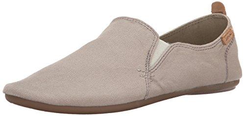 Sanuk, Chaussures À Lacets Femme Beige Gris Pierre Beige (pierre Grise)