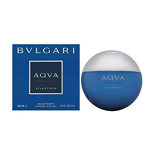 PARFÜM FÜR MANN BULGARI ACQUA ATLANTIQUE BVLGARI ACQVA ATLANTIQVE POUR HOMME 100 ML 3,4 OZ EDT 100ML EAU DE TOILETTE SPRAY 100% ORIGINAL - Parfums Bulgari Männer,