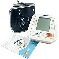 LifeBasis Monitor de Tensión Digital Tensiómetro de brazo electrónico Básico Medir Tensión Arterial Ritmo Cardíaco Hipertensión