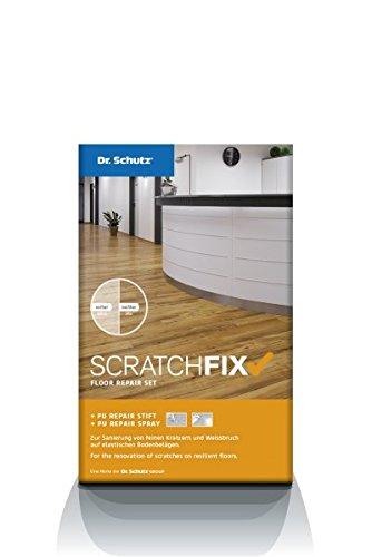 Dr. Schutz Scratch Fix PU-Repairset für Vinyl-Bodenbeläge, PVC und Linoleum - Kratzerentfernung - Reparatur-Set