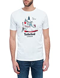 Tee Shirt Timberland Kennebec River Destination Blanc Homme