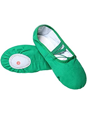 DoGeek Alta Calidad Transpirable Zapatos de Ballet Zapatillas de Ballet de Danza Baile Para Niña