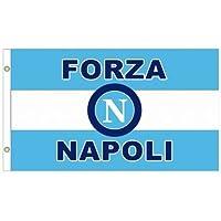 SSC Napoli-Bandiera con stemma